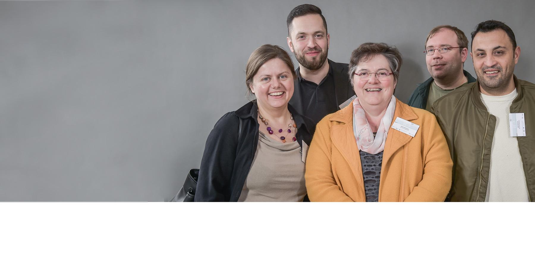 Das Bild zeigt das Team Integration, AWO Familienservice Mönchengladbach